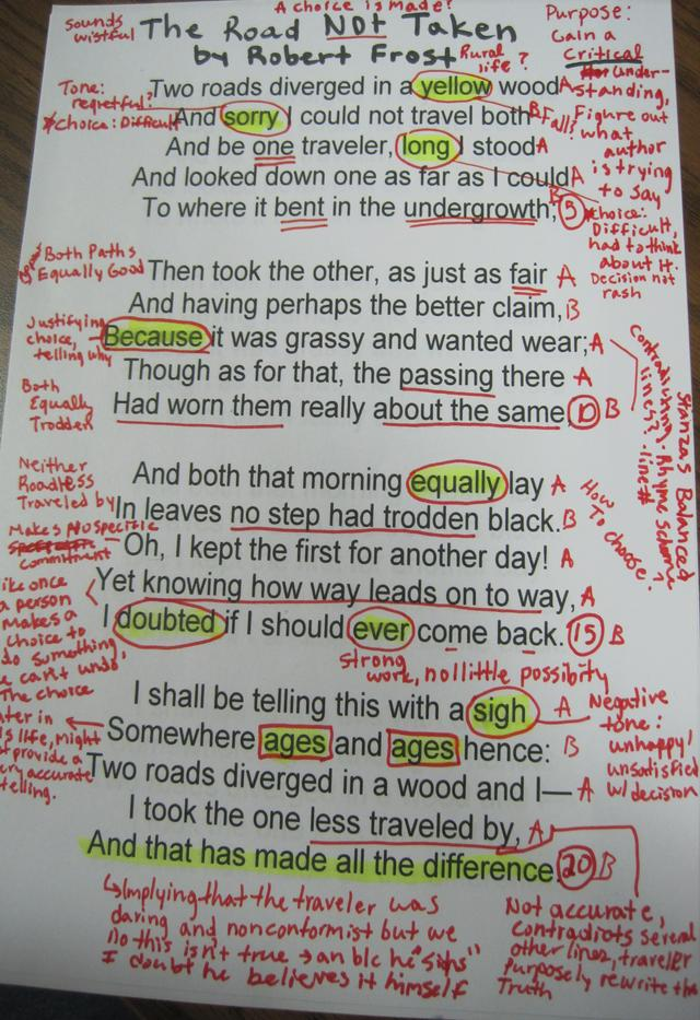 the road not taken poem analysis essay Robert frost poetry analysis this essay robert frost poetry analysis and other 63,000+ term papers similar essays analysis of the road not taken: robert frost.
